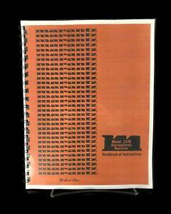 Marantz 2270 Receiver Owners Manual Instructions Color Copy Metal COIL Bound