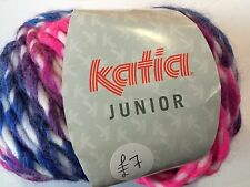 Super Chunky Wool Junior By Katia 25% Wool