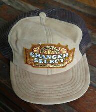 Vintage Granger Select Hat Cap Snapback Chewing Tobacco trucker hat