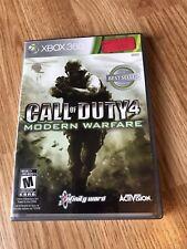 Call of Duty 4: Modern Warfare (Microsoft Xbox 360, 2007) Cib Game Works ES