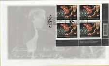 Orchestre symphonique de Quebec, 100 Years FDC Canada 2002