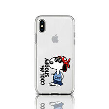 Cool Life Snoopy Dog iPhone XS Max Gel Snap Cool Dog iPhone 8 7 Plus Soft Cover