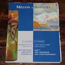 CATALOGUE VENTE 2006 DROUOT MILLON ART NOUVEAU ART DECO années 1950 + résultats