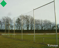 PROFI Ballfangnetz grün 4m Höhe, Länge wählbar, Kordel 4mm Fangnetz Schutznetz