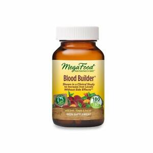 MegaFood Blood Builder - Supports Energy & Red Blood Cell Production - 180 Count