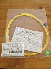 Excel Patch Cable de fibra óptica OS1 3 M LC-LC Dúplex 9/125 Amarillo