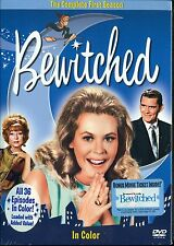 BEWITCHED THE COMPLETE FIRST SEASON 36 EPISODES IN COLOR NEW SEALED 4 discs DVD