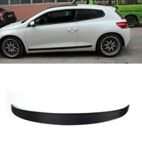 Carbon Fibre Rear Roof Spoiler Wing Fit for VW Volkswagen Scirocco Non R 10-14