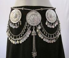 Coin Fringe Tassel BELT Tribal Belly Dancing Clothing Skirt Dance Wear Accessory