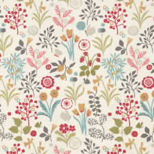 Clarke and Clarke Hawthorn Natural Curtain Craft Upholstery Fabric
