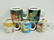 Starbucks TAIWAN Demitasse Mini Mug (2012) - Set of 5