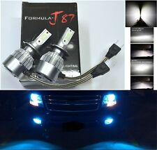 LED Kit C6 72W H7 10000K Blue Two Bulbs Light DRL Daytime Replacement Upgrade OE