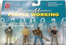 Life Like G Scale Hand Painted Working People Figures