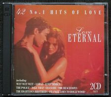 Love Eternal - 42 No.1  Hits of Love. Various artists. 2 CDs Miracle Sounds 1994