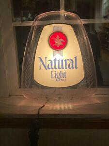 Natural Light Beer Anheuser-Bush lighted sign
