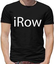 iRow Mens T-Shirt - Rowing - Rower - Boat - Canoe - Kayak - Sport - Machine
