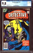 Detective Comics #475 CGC 9.8 (NM/MT): Laughing Fish! Bronze Key! $1,500 Value!