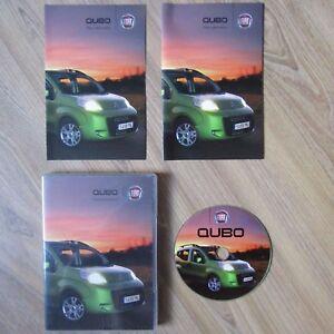 FIAT QUBO Press Information Kit Pack Photo Text CD/DVD 2008