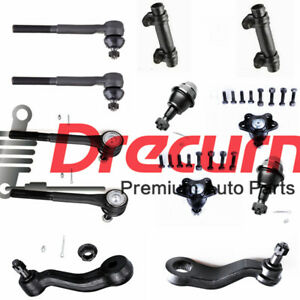 12PC Complete Front Suspension Kit For Chevrolet K1500 GMC Yukon - 4WD