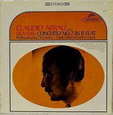 Claudio Arrau Brahms Concerto No 2 in B Flat LP Vinyl SEALED Carlo Maria Giulini