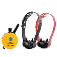 E-Collar Technology Mini Educator Remote Training Collar 2 Dog ET-302