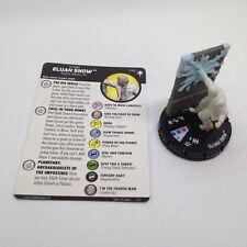 Heroclix DC Elseworlds set Elijah Snow #046 Super Rare figure w/card!