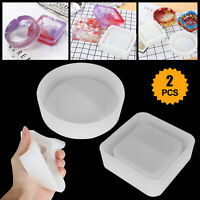 Silicone Ashtray Mold Resin Jewelery Making Mould Casting Epoxy DIY Craft Tool