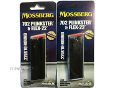 TWO Mossberg 702 Plinkster Tactical 22 715T 22 LR 10 Round Magazines 95702
