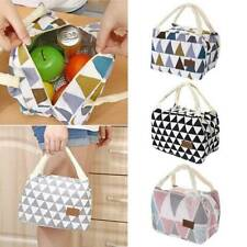 Portable Lunch Bag Insulated Thermal Cooler Box Carry Tote Travel Bags