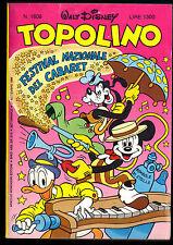TOPOLINO N° 1608 - 21 SETTEMBRE 1986