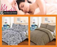 3D Animal Printed Duvet Cover Pillow Cases King Size Quilt Bedding Set
