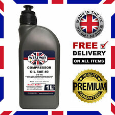 Compressor Oil 1 Litre SAE 40 Grade Oil Piston Air Compressor Oil 1L