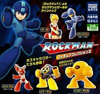 NEW LOT of 5 Takara Tomy ROCKMAN MEGAMAN Figure Collection 2 From JAPAN