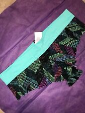 NEW TAGS VICTORIA'S SECRET PINK STRETCH LARGE EXTRA LOW RISE CHEEKSTER TURQUOISE