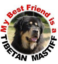 2 Tibetan Mastiff Car Stickers By Starprint - Auto combined postage