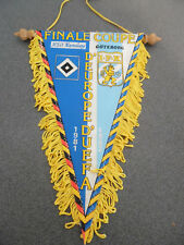 Vintage Fanion Football Hambourg / Goteborg 1981/82 Coupe d'Europe UEFA Finale