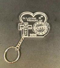 Personalised Engraved Pet Memorial Keyring - In Loving Memory Pet Photo Dog