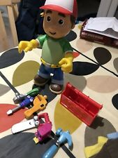 Handy Manny Talking Toy With Tool Box, Tools, in good working order