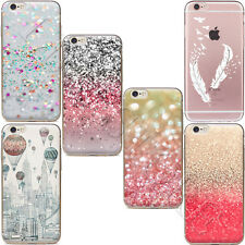 Silicone TPU Back  Soft Case Cover Etui Housse Coque For iPhone 5 6s 7 8 Plus X