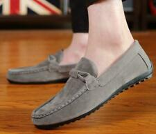 Men's Slip Onsuede Loafers Casual Buckle Comfort Shoes Formal Dress Mules Party