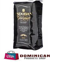 CAFE SANTO DOMINGO INDUBAN GOURMET DOMINICAN WHOLE BEAN COFFEE 1 POUNDS 454 GRAM