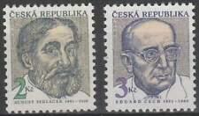 Ceska postfris 1993 MNH 21-22 - August Sedlacek en Eduard Cech