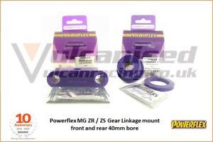 MG ZR MG ZS 01-05 Powerflex Gear Linkage Mounts Front & Rear PFF63-415 PFF63-416