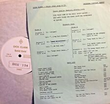 Radio Show: DICK CLARK GOLD #154 DANCING! JACKSON 5, BEACH BOYS, ORLEANS, SLY