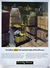 Vintage 1968 Coventry Climax Fork-Lift Trucks Advert #1 - Original Auto Print Ad