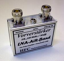 LNA-AIR-Band (Flugfunk) Vorverstärker 118 - 137 MHz / Weißblechgehäuse (5048)