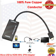 Micro USB to HDMI MHL 5PIN Adapter for Samsung Galaxy S2, HTC Evo 3D, HTC Evo 4G