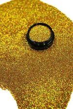 3ml Glitter 0,2mm, Gold Hologramm,Glitterstaub, Puder Acryl Dose, Nr. 801-073-a
