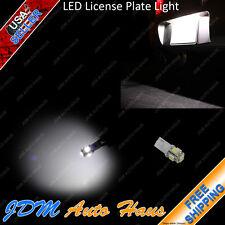 5-SMD Ultra White 12V T10 Wedge LED License Plate Tag Light Bulb 168 192 148 W5W