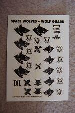 Warhammer 40k Space Wolf / Spacewolves transfer HHH  Rare OOP